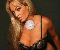 teasing men in her lingerie